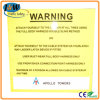 Aluminum Reflective Custom Warning Road Safety Traffic Sign