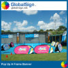 Advertising Foldable Pop up a Frame Banner