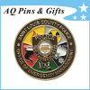 Custom Police Challenge Metal Coins with Antique Finished
