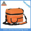 Unisex Orange Insulated Lunch Box Picnic Cooler Bag