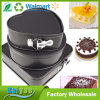 3-Piece Nonstick Springform Pan Set, Square Round Heart-Shaped Cake Pans