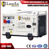 10kVA Single Cylinder Air Cooled Three Phase Silent Diesel Generator