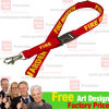 Woven Polyester Lanyard with Printing Logo