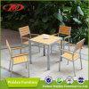 Plastic Wood Dining Set, Garden Dining Set, Plastic Wooden Furniture