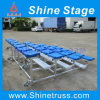 Rugby Football Aluminum Bleacher Seat with Wheels (YN-)
