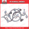Wrought Iron Rosettes Used on Gate and Fence