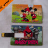 Cartoon Slim Card USB Flash Drive Pendrive (YT-3101)