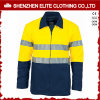 ANSI Yellow Blue 3m Reflective Safety Jacket Oil and Gas