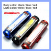 3 Shell Color 3 Lighting Mode Rechargeable Bicycle Tail Light