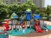 Kaiqi Medium Sized Cool Robot Themed Children′s Outdoor Playground - Available in Many Colours (KQ50065A)