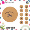 Handmade Wooden Coasters Desktop Insulation Pads Cup Mat Set