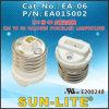 E26 to G9 Halogen Porcelain Lampholder, Adapter; Ea-06