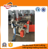 Double Layer Point Cutting Rolling Trash Garbage Bag Machine