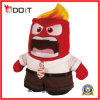 Wholesale Cheap Promotional Gifts Plush Toy Keychain Anger