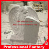Engraving Angels White Granite Headstone