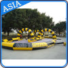 PVC Tarpaulin Inflatable Sports Games Inflatable Race Track for Sports Games