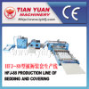 Nonwoven Polyester Fiber Sheep Wool Quilts Production Line