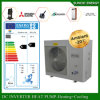 Runing at -25c Very Cold Winter Area Floor Heating+55c Hot Water 12kw/19kw/35kw Auto-Defrost Evi Heat Pump Air Water Inverter