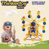 Plastic Sky Wheel Construction Blocks Toy for Children