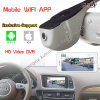 1080P Car DVR Special for Audi Support Driving Record, WiFi Mirrorlink, Loop Video