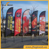 Tradeshow Aluminium Custom Feather Banner/Flying Flag