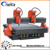 Two Spindle Wood Cutting Engraving Carving CNC Engraver