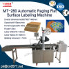 Automatic Paging Flat Surface Labeling Machine for Cards (MT-280)