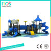 Blue and Grey Outdoor Playground Equipment for Kids