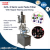 Semi-Auto Paste Filling Machine with Hopper for Peanut Butter (GZA-2)