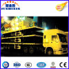 40FT 3 Axle 30.5 Tons Semi Truck Trailer Skeleton Container Chassis with Fuwa or BPW Axle and Wabco Valve