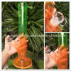 14 Inch Straight Glass Colorful Water Pipes with Custom Logo