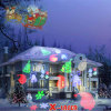 Red and Green Movingchristmas Eight Pattern Garden Laser Light for Outdoor