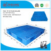 EU Standard Pallet 1200*1000*150mm Heavy Duty Grid Double Deck HDPE Plastic Pallet for Warehouse Products (ZG-1210)