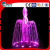 Music Style Garden Decoration Mini Fountain with LED Light