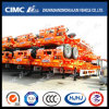 Cimc Huajun 40FT 2axle Skeleton Semi Trailer (4 units in stack)