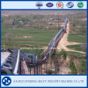 Long Distance Curved Trough Blet Conveyor
