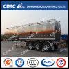 Cimc Huajun Oblong-Shaped Aluminium Alloy Fuel/Gasoline/LPG/Oil/Liquid Tanker
