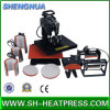 Hot Sale Combo All in One Heat Transfer Machine for T-Shirts Caps Mugs and Plates