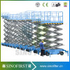 8m Full Electric Moving Aerial Scissor Man Lift for Ce