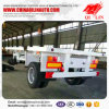 Heavy Duty 60 Tons Platform Semi Truck Trailer on Sale