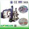 4 Colour High Speed Stack Type Paper Flexo Printing Machine