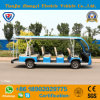 Zhongyi Brand Ce Approved 14 Seats Electric Sightseeing Shuttle Bus