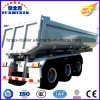 Hot Selling 3 Fuwa Axles 60ton Rear Tipper Trailer Tractor Semi Dumper Truck Trailer Sold to Vietnam Market