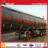 Fuel Tanker Truck Semi Trailer Stainless Steel Tank