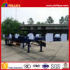 Double Axles Skeleton Type 40ft Container Transport Semi Trailer
