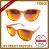F5849 Chinese Market Wholesale Eye-Catching Plastic Sunglasses with CE, FDA Certificates