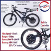 48V 1000W Powerful Sport Ebike with 50km/H Top Speed