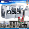 Concentrate Fruit Juice Machinery for Filling and Capping
