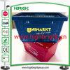 100% New PP Plastic Supermarket Hand Shopping Basket