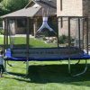 Hrt 15FT Trampolines Square Trampoline with Enclosure,